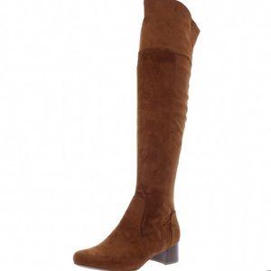 Naturalizer Danton Over Knee High Heeled Boots 7